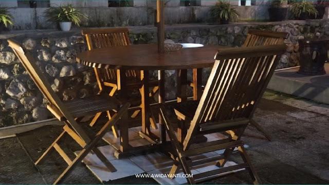 Meja Kursi Payung Set