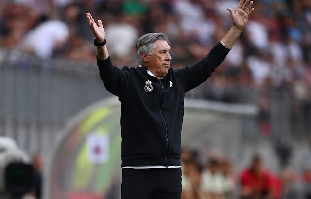 """Ancelotti: """"I hope Roma will win with Mourinho. Juventus will get back up"""