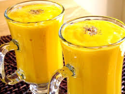 Mango Coconut Milk Shake