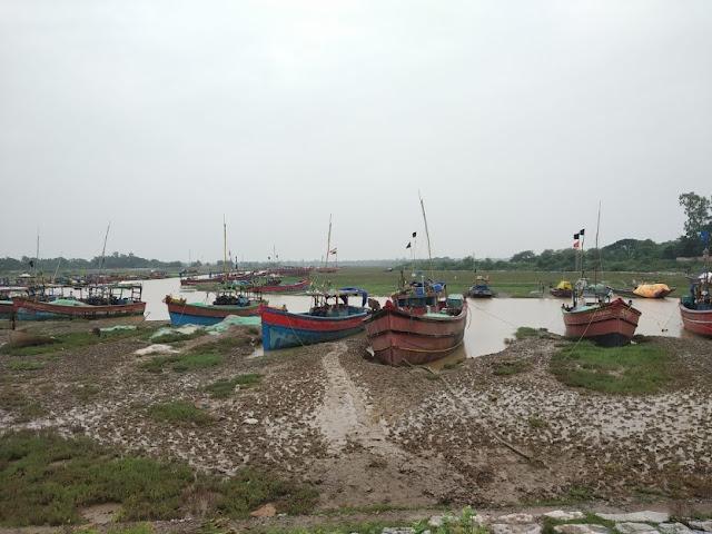 Gamei River on the way to Eram Massacre, Bhadrak, Odisha