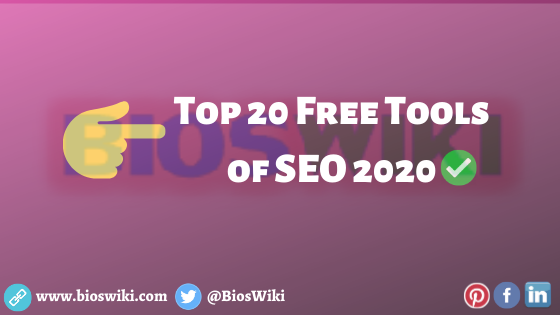 Top 20 Tools of SEO 2020
