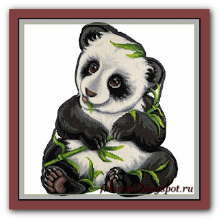 ПД-1910 Подушка Моя панда (Подушка) Панна