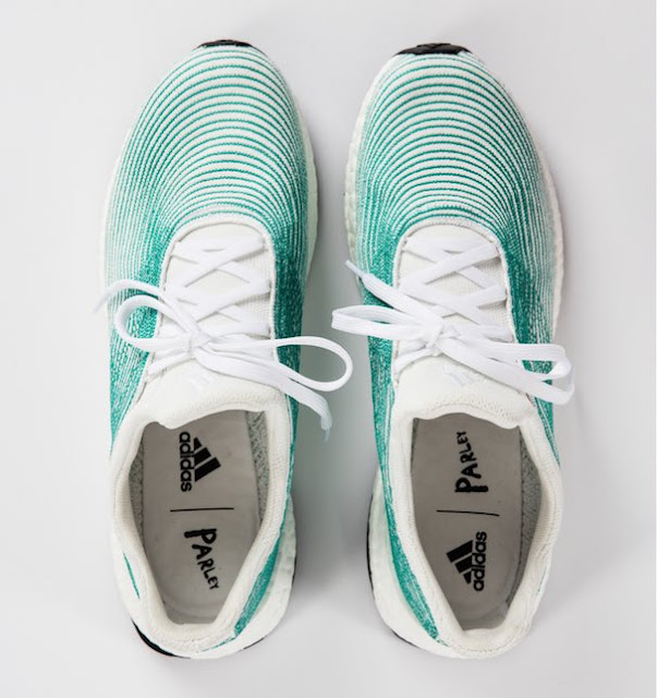 adidas X Parley Ultraboost sneaker running constest