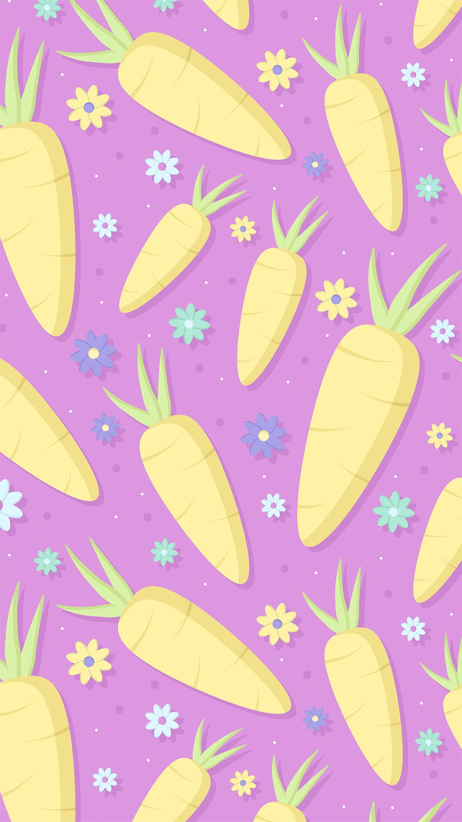 carrot pattern easter