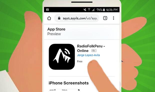 Appstore disponible en IOS