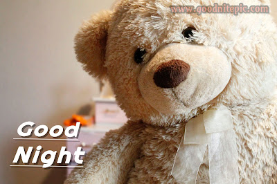 Good night images with teddy bear
