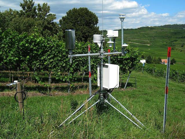 Pesquisadores criam mini estação meteorológica para escola.