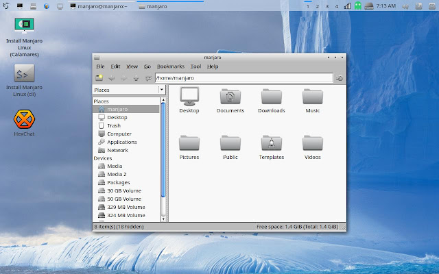 PCManFM file manager