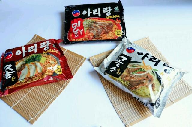 Mencoba Kelezatan Mie Korea Arirang