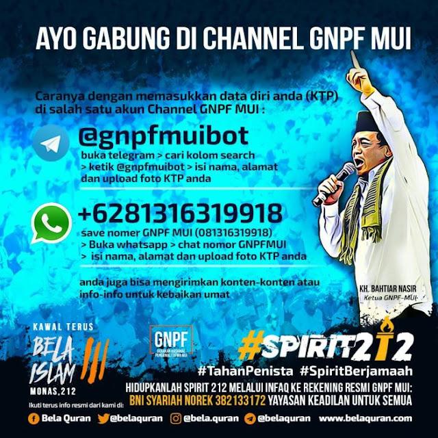 Channel 212 Hadir untuk Lindungi Umat Islam dari Informasi Keliru
