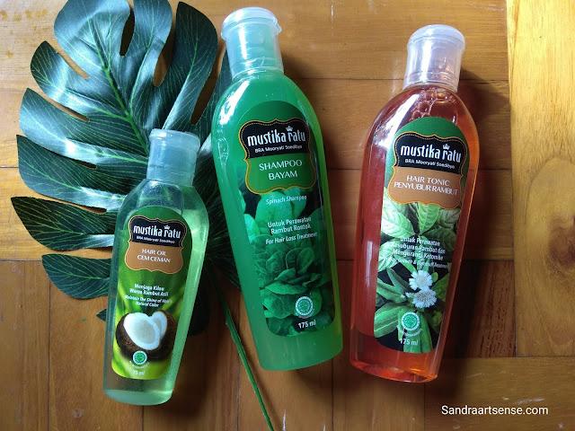 Review Mustika Ratu Shampoo Bayam untuk Perawatan Rambut Rontok