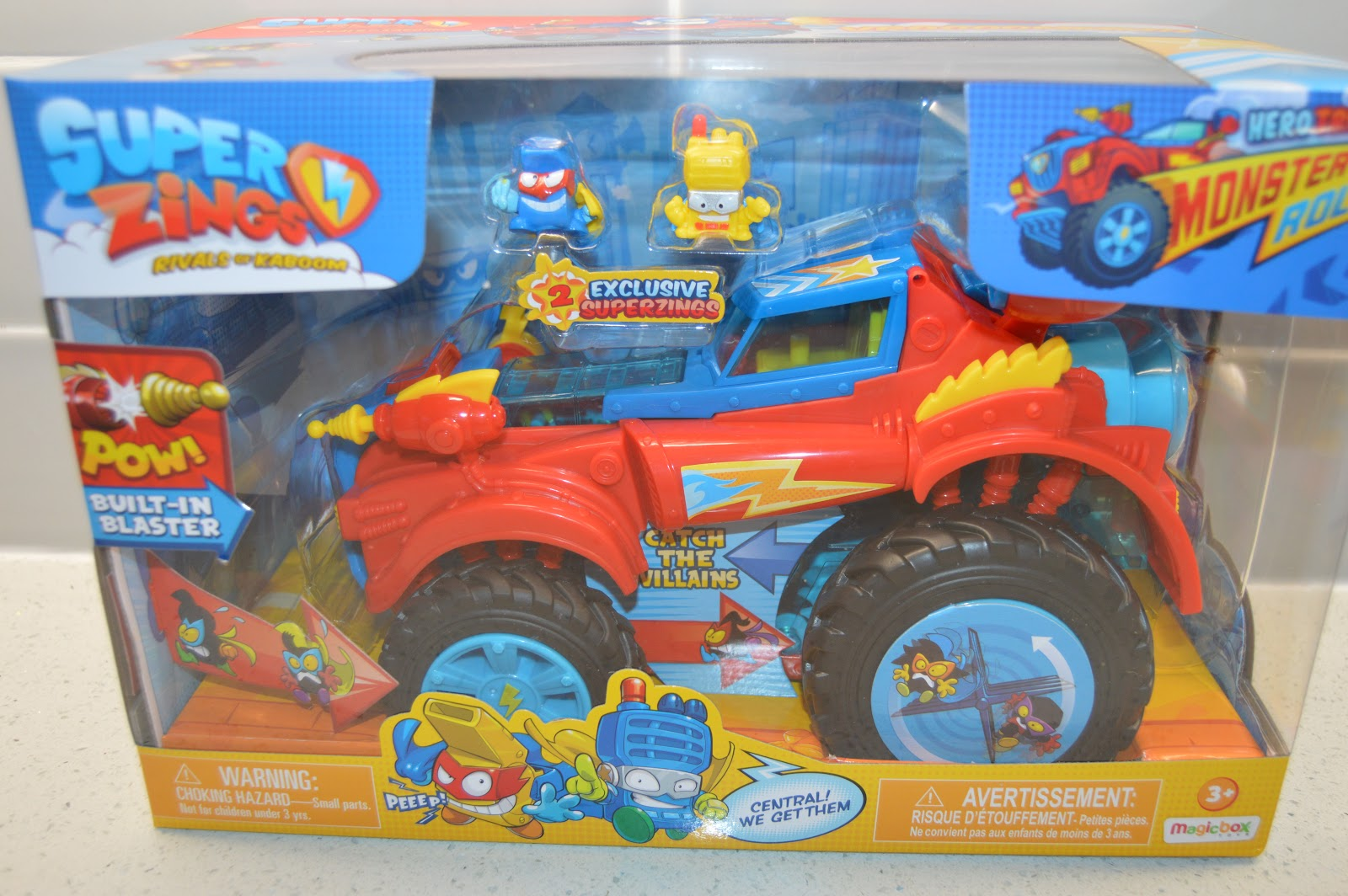 SuperZings Monster Roller Hero Truck
