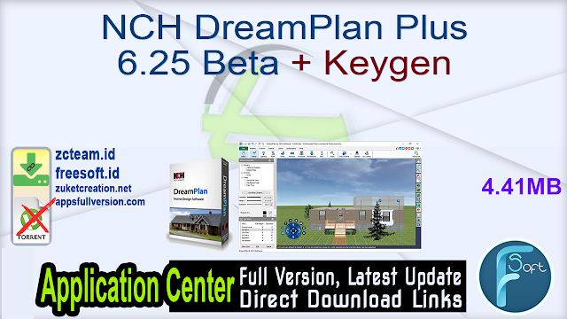 NCH DreamPlan Plus 6.25 Beta + Keygen_ ZcTeam.id