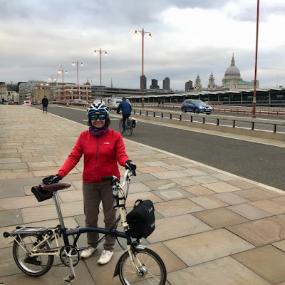French Village Diaries feeling awesome on my bike #KTTinyTourer Thames London cycling