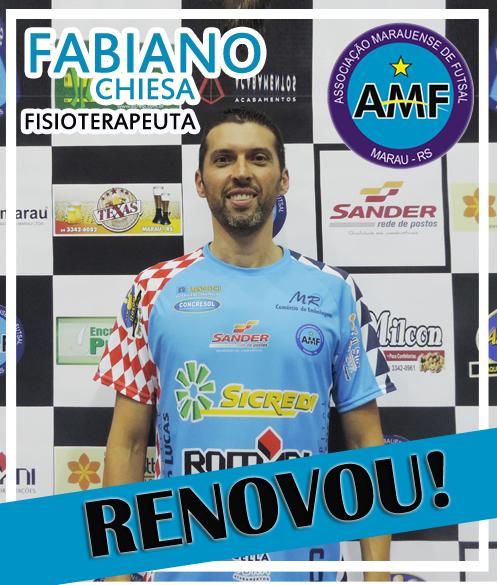 A AMF - Associação Marauense de Futsal continuará contando com um serviço  qualificado de fisioterapia em 2017. Nesta semana cbcaeee513094