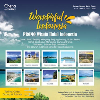 Pilihan Paket Tour Halal Domestik 2020 Cheria Holiday
