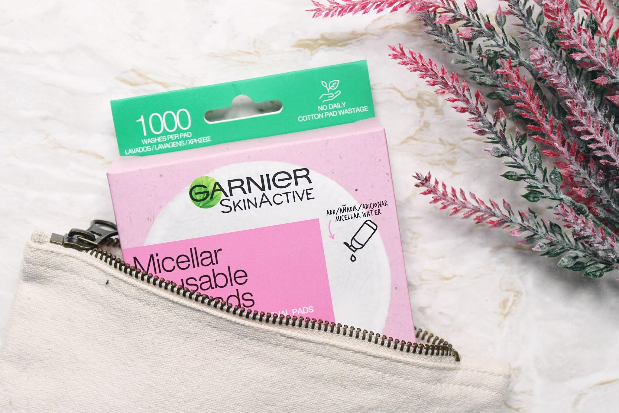 Garnier Micellar Reusable Eco Pads Review
