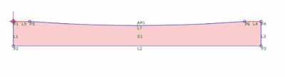 Civil 3D Subassembly Composer valley gutter