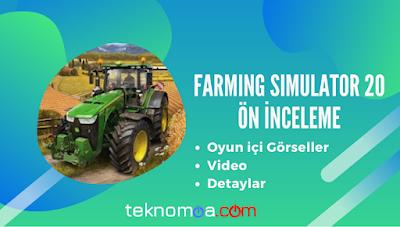 Farming Simulator 20 mobil oyunu ayrıntıları