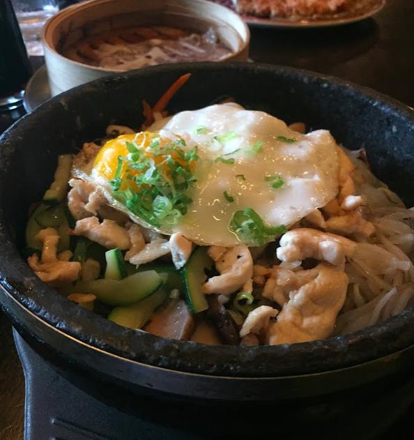 Hot Stone Rice Bowl at Basho Sushi in Boston, MA
