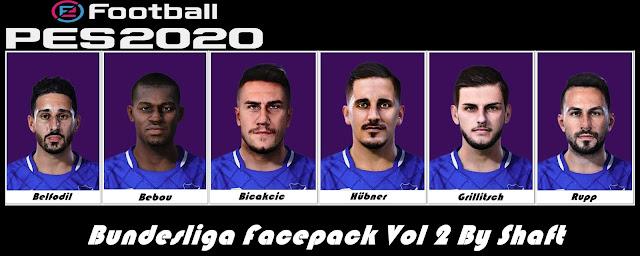 PES 2020 Bundesliga Faces Pack #2 by Shaft