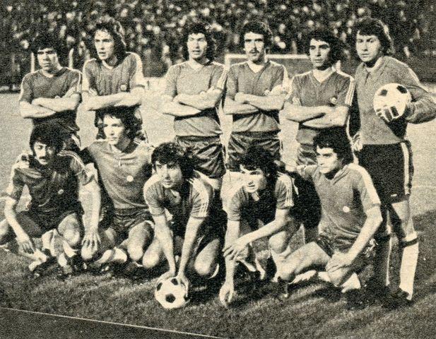 Formación de Chile ante Argentina, Copa Carlos Dittborn 1976, 13 de octubre