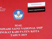 Download Soal OSK IPA SMP Tahun 2019