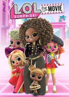 L.O.L. Surprise! The Movie 2021 DVD Custom HD NTSC Latino