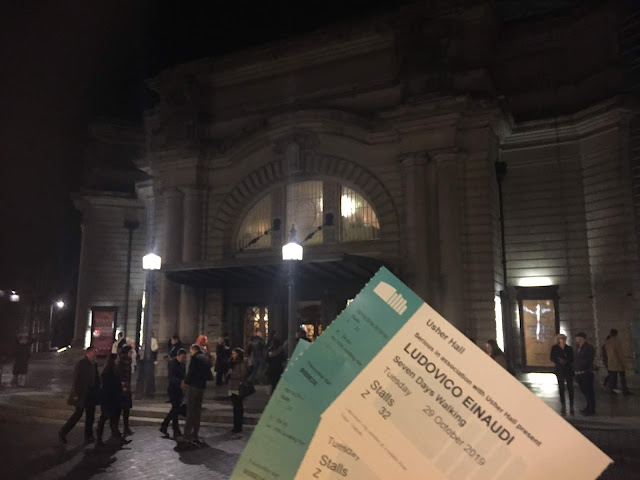 Ludovico Einaudi in concert at the Usher Hall, Edinburgh