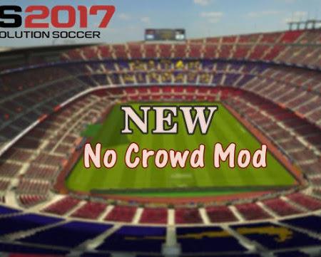 PES 2017 No Crowd Mod