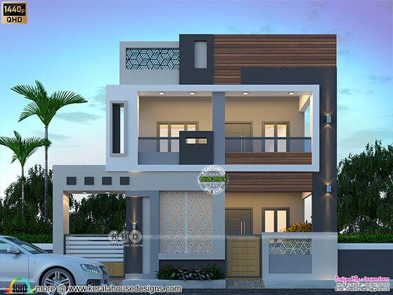 Elegant looking Modern house rendering