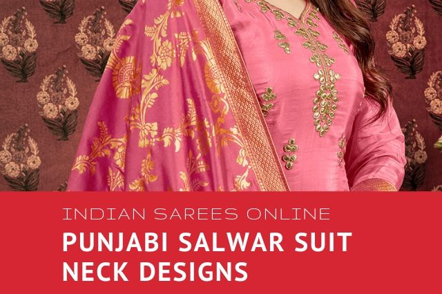 Punjabi salwar suit neck designs
