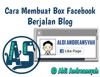 Cara Membuat Like Box Fanspage facebook Berjalan blog
