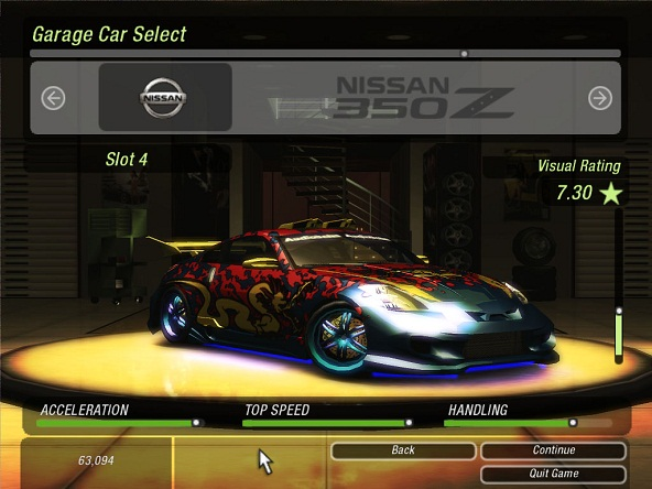 Save Cheat Trainer NFS Underground 2