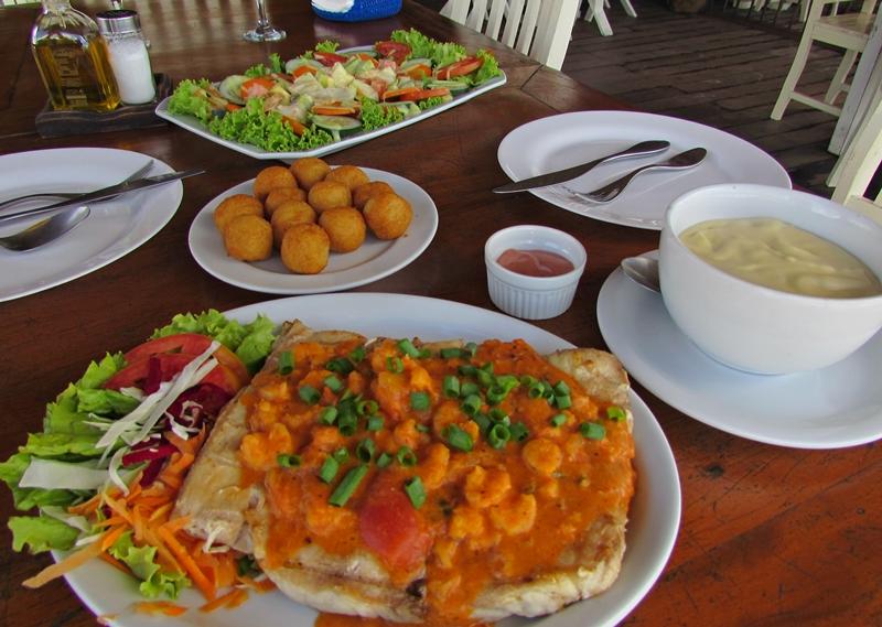 Lagoa do Paraíso Jericoacoara: estrutura, comidas e bebidas