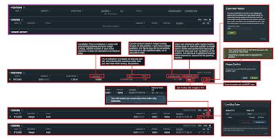 Bitfinex - Trading Platform Dashboard Explained - Position & Order Management