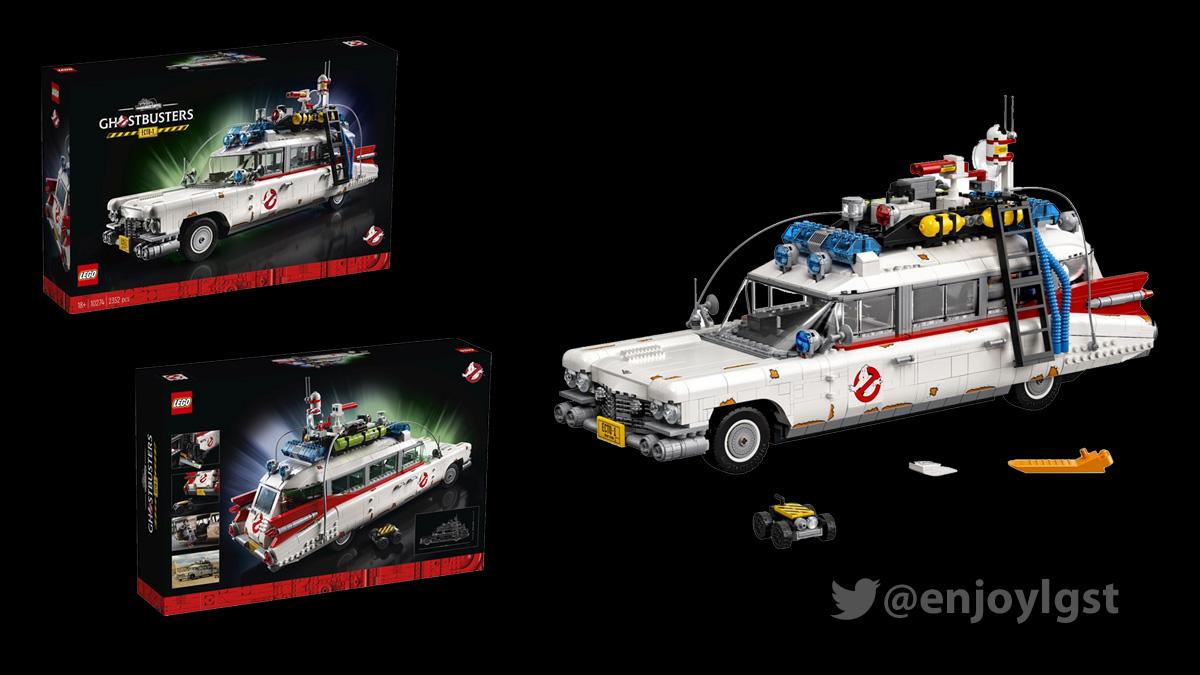 11/15(日)発売!10274 ゴーストバスターズ Ecto-1:大人のレゴ(2020):新製品・価格情報(LEGO)