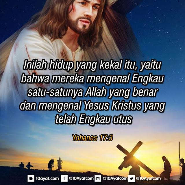 Yohanes 17:3