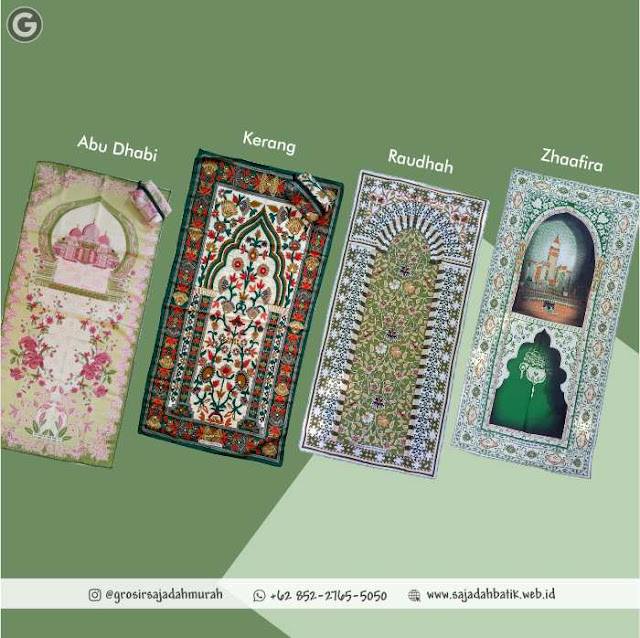 Sajadah Batik Tipis | +62 852-2765-5050