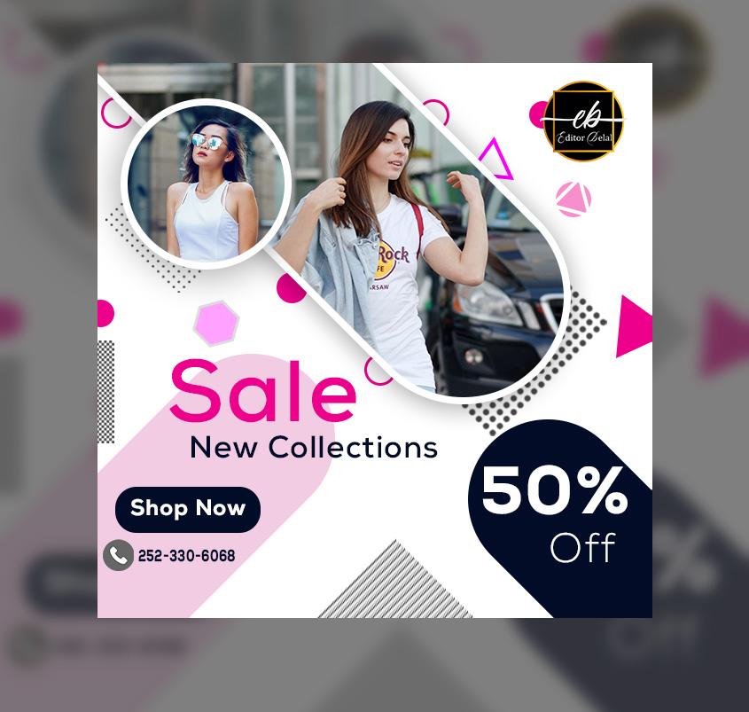 Free Download Premium Offer Sale Web Social Media Advertisement Banner Template