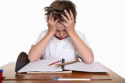 anak tidak suka PR sekolah