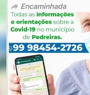 São 10 mortes, 257 positivos e 42 recuperados de coronavirus em Pedreiras