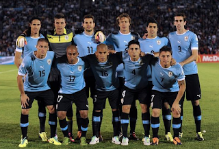 Uruguay 2018 FIFA world cup squad