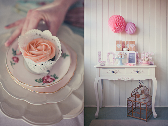 pastel+party+styling Polka Dot Bride Pastel Wedding Decor and Interior Inspiration