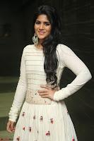 Megha Akash in beautiful White Anarkali Dress at Pre release function of Movie LIE ~ Celebrities Galleries 034.JPG