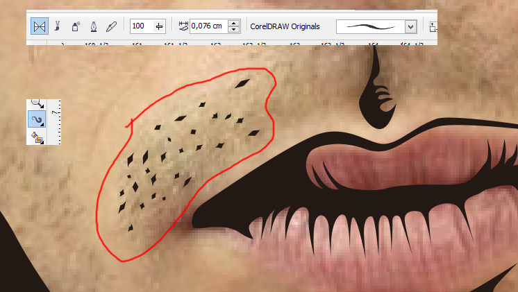 Line Art Coreldraw Tutorial : Membuat line art vector di corel draw kelas desain