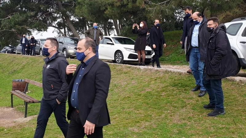 Περιοδεία του αναπληρωτή Υπουργού Εσωτερικών Στέλιου Πέτσα στον Έβρο