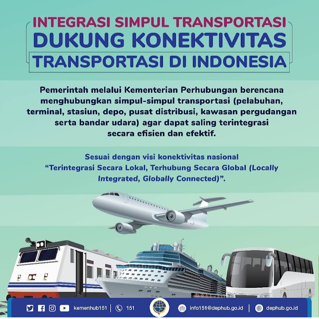 Transportasi Unggul, Ekonomi dan Pariwisata Indonesia Maju