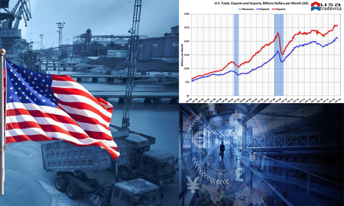 US trade partners, US export product,