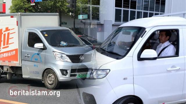 Bima Dijiplak Changan Star Truck